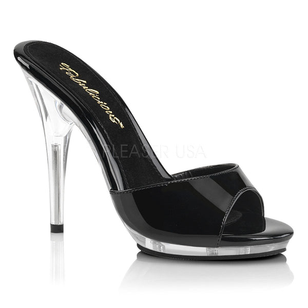 POISE-501 Black Patent/Clear
