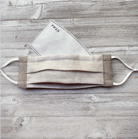 Linen face mask | Made in Canada face masks