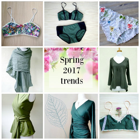 green fashion trends