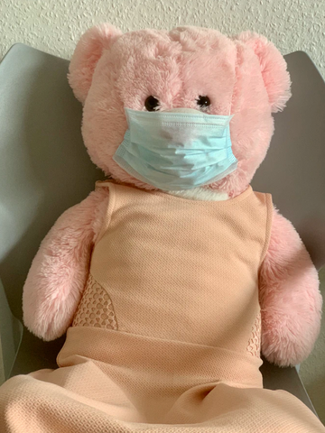 Teddy bear in a face mask | Shop Face masks for kids