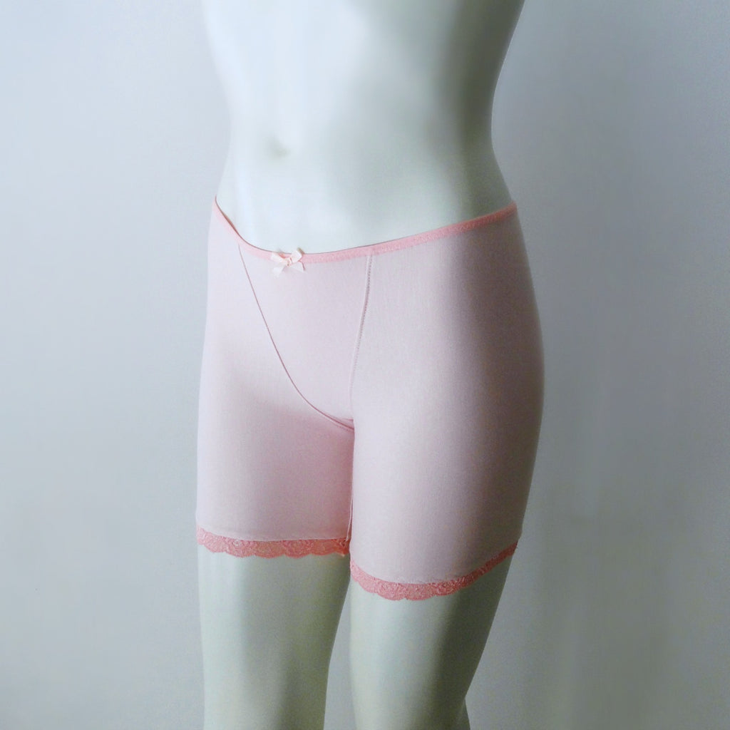 pink boy short panties