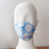 daisy flower fitted mask