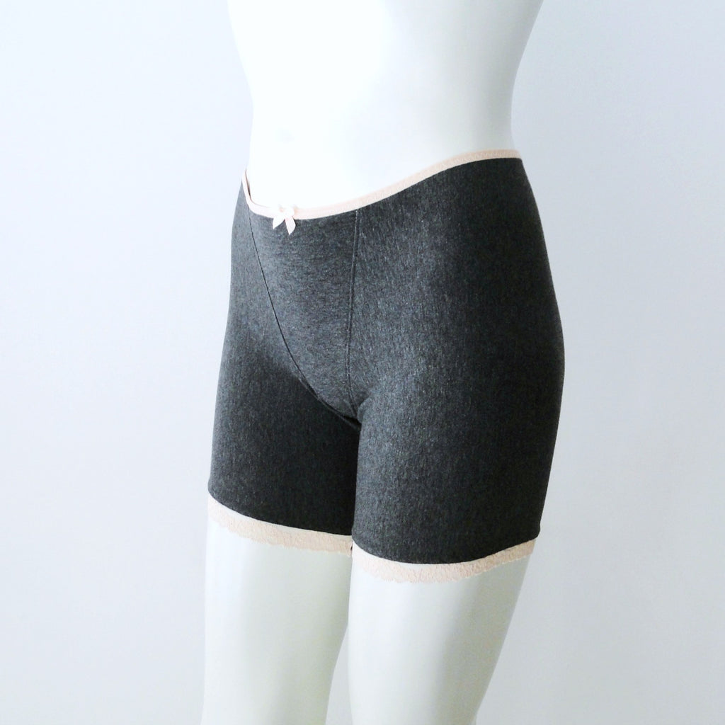 women's boxer briefs grey
