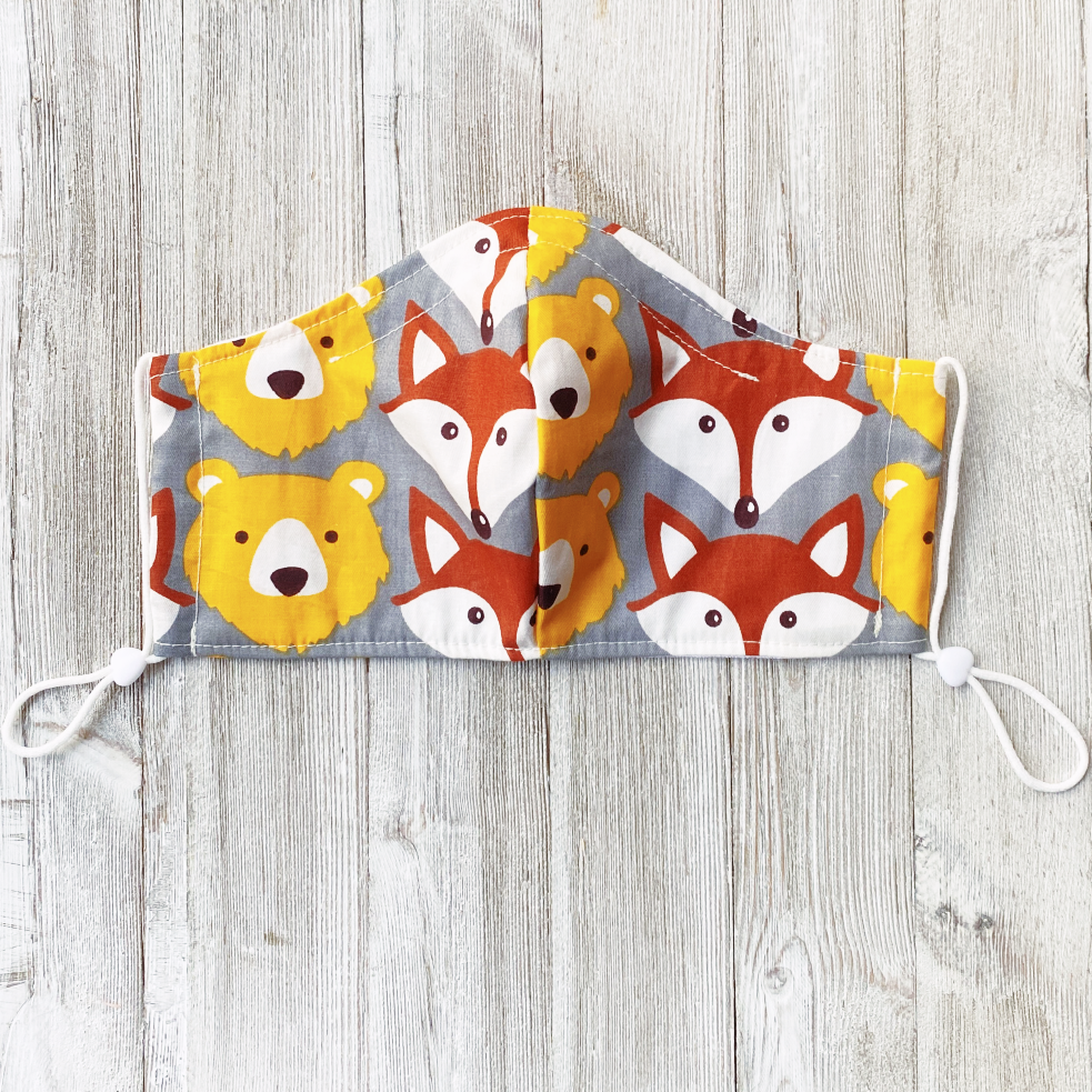 face mask for kids organic cotton