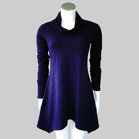 purple bamboo tunic