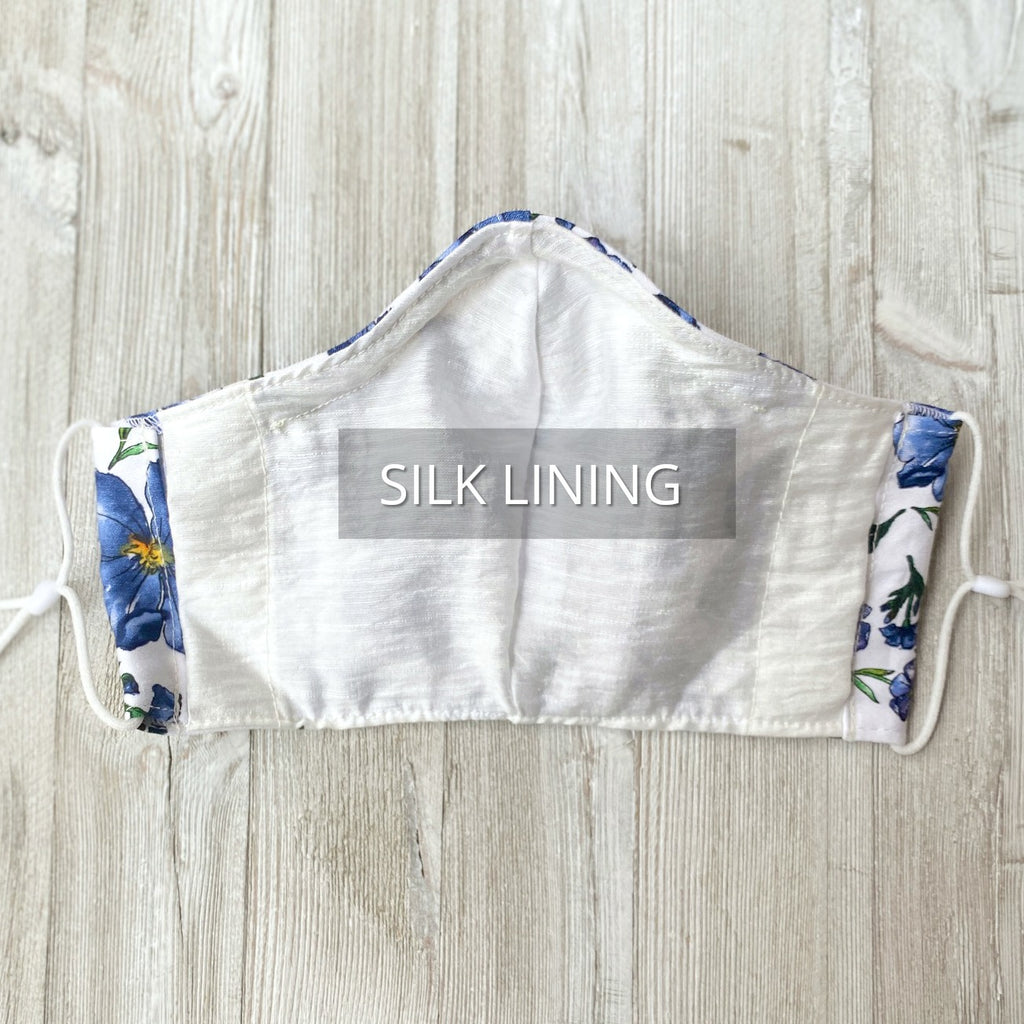 silk lining face mask