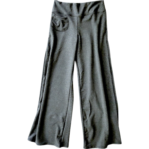 grey bamboo pants
