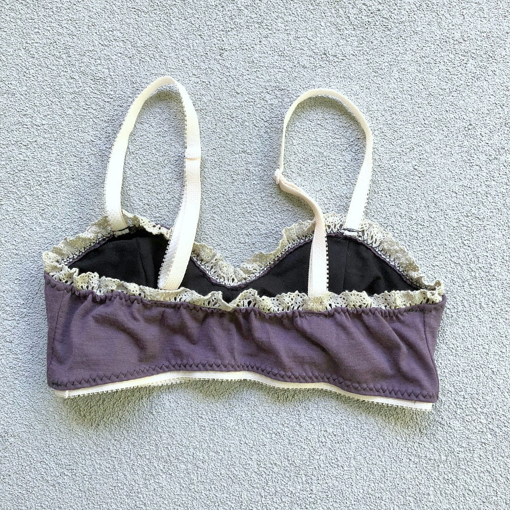 wool bralette american made