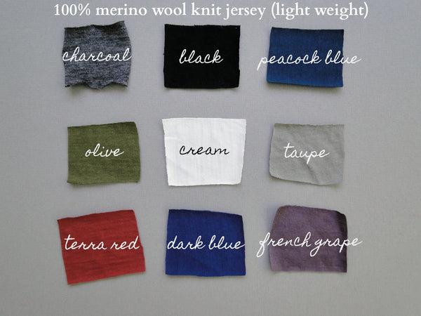 merino wool for lingerie