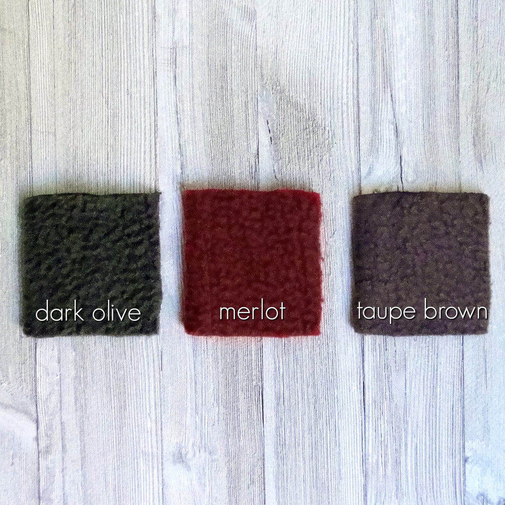 fleece fabric color chart