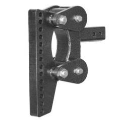 "The Boss (Torsion-Flex) Weight Distribution w/ 2 1/2 "" Receiver (16K) and 9 1/2"" Drop and 10 Adjustable Positions"