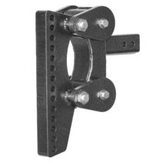 "The Boss (Torsion-Flex) Weight Distribution w/ 2 1/2 "" Receiver (21K) and 19"" Drop and 12 Adjustable Positions"