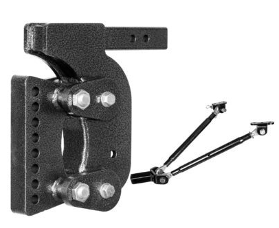 "The Boss (Torsion-Flex) Weight Distribution w/ 2"" Receiver (16K) and 12 1/2"" Drop and 6 Adjustable Positions"