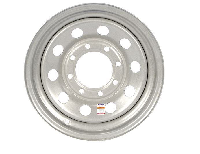 Dexstar 16 x 6 Silver Mod Wheel 865 WH166-8SM -AT NexAge Trailer Parts We Price Match Etrailer with Free Shipping, Dexstar
