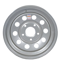 Dexstar 15x5 Silver Mod Wheel 5 on 4.5 -AT NexAge Trailer Parts We Price Match Etrailer with Free Shipping, Dexstar