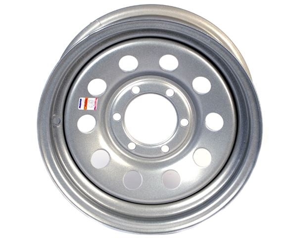 Dexstar 16 x 6 Silver Mod Wheel 655 17-255-19 -AT NexAge Trailer Parts We Price Match Etrailer with Free Shipping, Dexstar