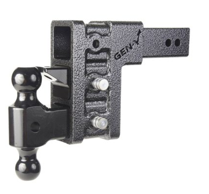 "Mega-Duty 32K Drop Hitch w/ 3"" Receiver and 6"" Drop and 3 Adjustable Positions -AT NexAge Trailer Parts We Price Match Etrailer with Free Shipping, Gen-Y"
