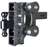 "The Boss (Torsion-Flex) 21K Drop Hitch w/ 3"" Receiver and 9"" Drop and 5 Adjustable Positions"