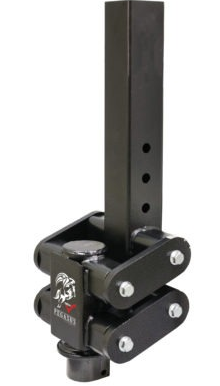 "Pegasus (Torsion-Flex) Gooseneck Couplers w/ 7k Tongue Weight, 30K Towing, 4"" Square (Extended for Recessed Ball)"