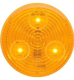 Optronics Amber LED 2in Round MRK/CLR Light MCL-55AB -AT NexAge Trailer Parts We Price Match Etrailer with Free Shipping, Optronics