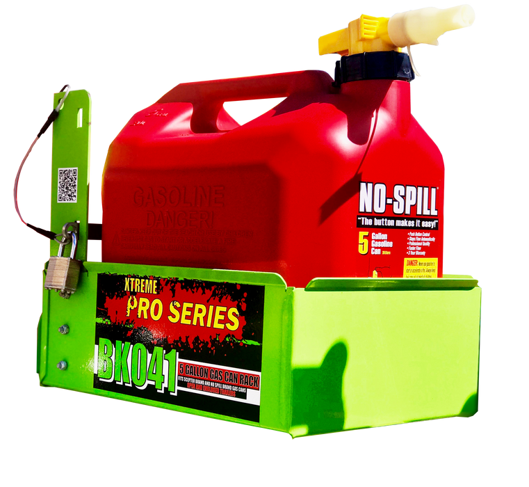 Gallon Gas Can Rack For No Spill / Scepter Brand Gas Cans -AT NexAge Trailer Parts We Price Match Etrailer with Free Shipping, Green Touch Trimmer Racks