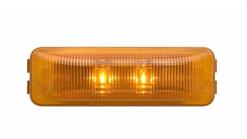 Optronics Amber or Red  LED Fleet Thin Line MRK/CLR Light -AT NexAge Trailer Parts We Price Match Etrailer with Free Shipping, Redline