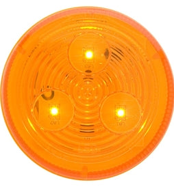 Optronics Amber LED 2 1/2in MRK/CLR Light MCL-57AB -AT NexAge Trailer Parts We Price Match Etrailer with Free Shipping, Optronics