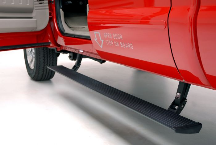 AMP Research 75134-01A PowerStep Electric Running Boards for 2002-2003 and 2008-2016 Ford F-250/350/450, All Cabs, 2002-2003 Ford Excursion