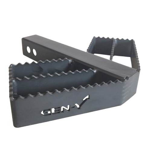 "Serrated Hitch Step w/ 2"" Receiver and 300 LB Capacity"