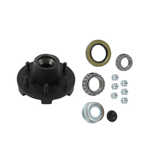 Dexter 6 on 5.5in EZ-Lube Hub Kit for 5.2K Axles