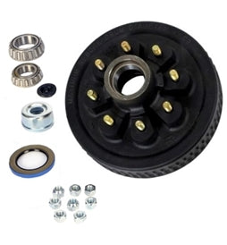 Dexter 8 on 6.5in EZ-Lube Hub & Drum Kit For 6K & 7K Axles w/9/16in Studs 8-219-13UC3-EZ -AT NexAge Trailer Parts We Price Match Etrailer with Free Shipping, Dexter Axle