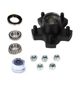 Dexter 5 on 4.5in EZ-Lube Hub Kit 1 1/16in Spindle For 2K Axles 8-259-5UC1-EZ -AT NexAge Trailer Parts We Price Match Etrailer with Free Shipping, Dexter Axle