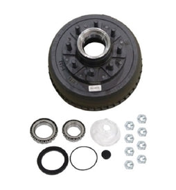 Dexter 8 on 6.5in Hub & Drum Kit For 9-10KGD Axles After 07/2009 8-430-5UC3