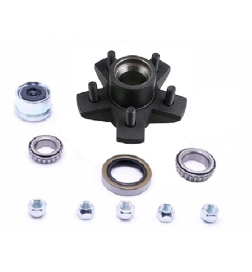 Dexter 5 on 4.5in EZ-Lube Hub Kit For 3.5K Axles 84545UC1-EZ