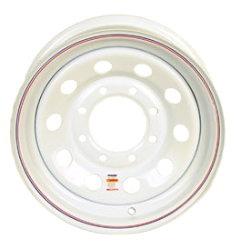 Dexstar 16 x 6 White Mod Wheel 865 WH166-8WM -AT NexAge Trailer Parts We Price Match Etrailer with Free Shipping, Dexstar