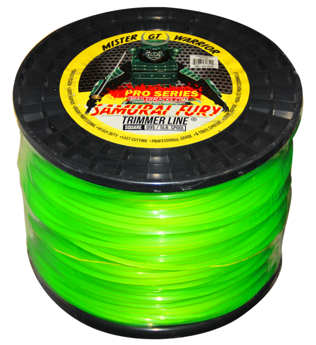 TL500-SAMURAI FURY TRIMMER LINE (5LB SPOOL/.095 GAUGE)