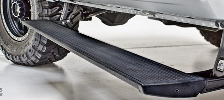 AMP Research 75138-01A-B PowerStep Electric Running Boards for 2019 Ram 1500 Classic, 2009-2018 Dodge Ram 1500, 2010-2018 Dodge Ram 2500/3500, All Cabs