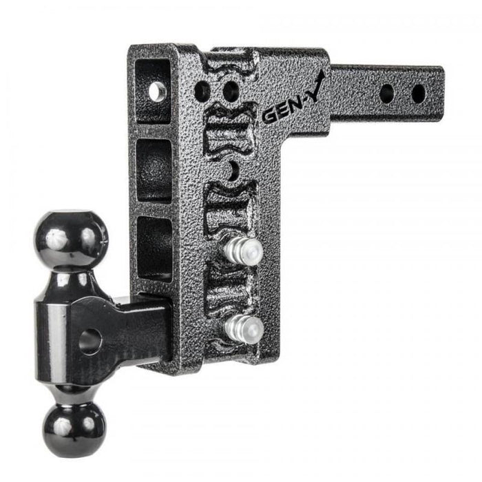 Mega-Duty 10K Hitch 2 Inch Receiver 7-1/2 Inch Drop -AT NexAge Trailer Parts We Price Match Etrailer with Free Shipping, Gen-Y