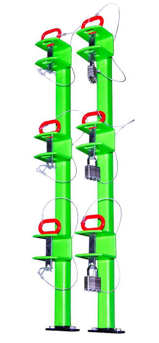 Classic Series 3 Position Trimmer Tack -AT NexAge Trailer Parts We Price Match Etrailer with Free Shipping, Green Touch Trimmer Racks
