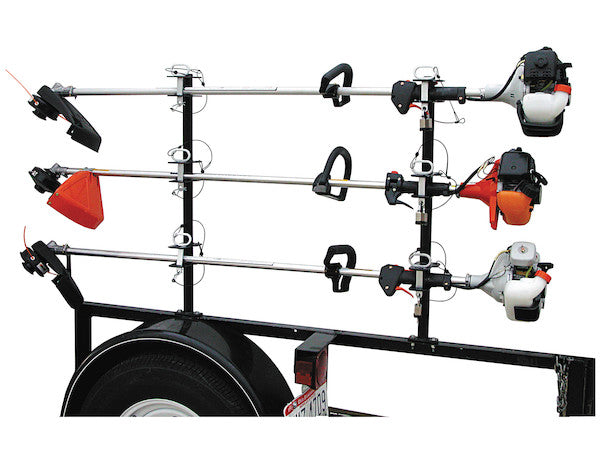LOCKABLE TRIMMER RACK WITH PADLOCKS -AT NexAge Trailer Parts We Price Match Etrailer with Free Shipping, Buyers Products