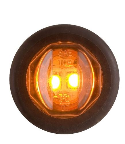 Optronics Amber 3/4in Uni-Lite LED MCL-11AKB -AT NexAge Trailer Parts We Price Match Etrailer with Free Shipping, Redline