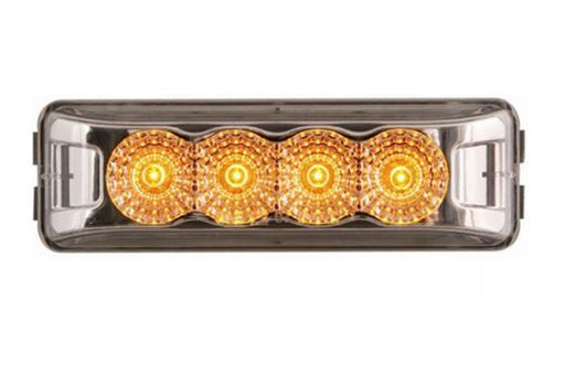 Optronics Amber Thinline LED Miroflex Clearance/Marker Light w/ Clear Lens MCL-63CAB -AT NexAge Trailer Parts We Price Match Etrailer with Free Shipping, Redline
