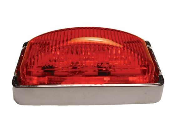 Optronics Red LED Mini Thin Line MRK/CLR Light MCL-91RB