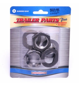 Redline Spindle Nuts w/Tang Washers & D-Washers RG05-060