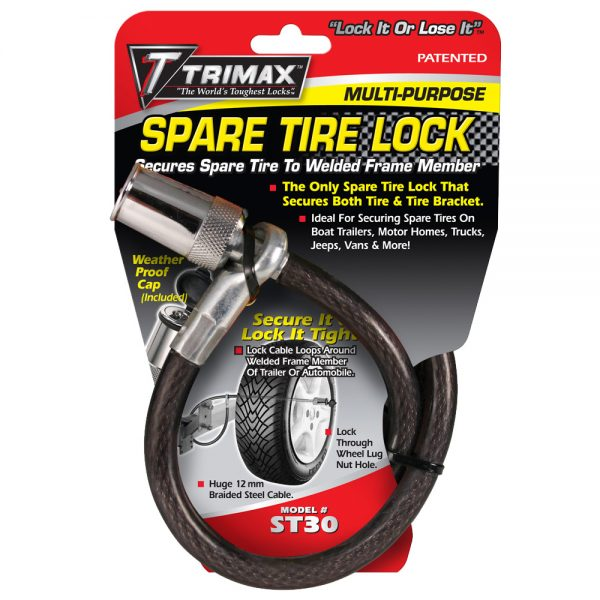 Trimax ST30 Trimaflex Spare Tire Cable Lock