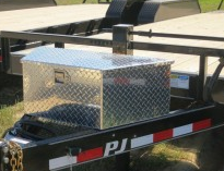 Toolbox Aluminum BP A Frame Large