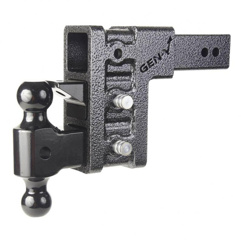 "Mega-Duty 21K Hitch w/ 2-1/2 Inch Receiver and 6"" Drop and 3 Adjustable Positions -AT NexAge Trailer Parts We Price Match Etrailer with Free Shipping, Gen-Y"