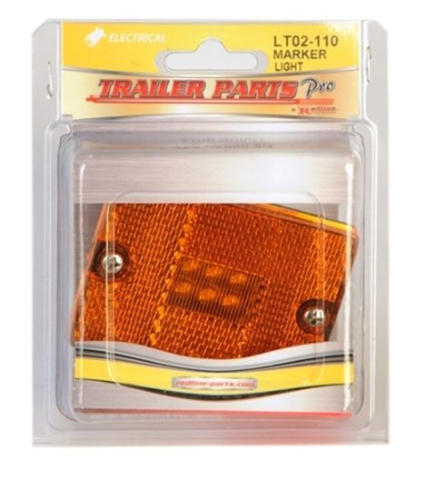 Redline Amber Square Stud Mount LED Light LT02-110