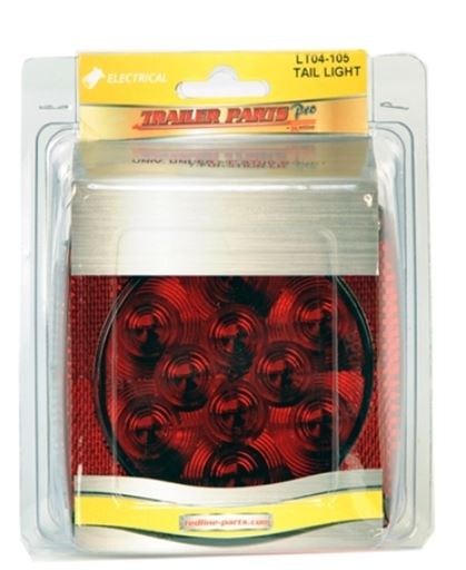 Redline Stud Mount LED LH S/T/T Light w/Illuminator LT04-105