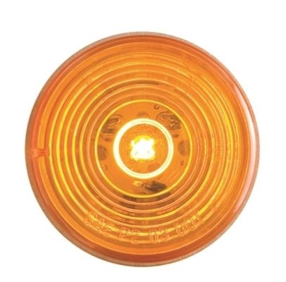 Optronics Fleet Amber LED 2in Round MRK/CLR Light MCL-56AB -AT NexAge Trailer Parts We Price Match Etrailer with Free Shipping, Redline